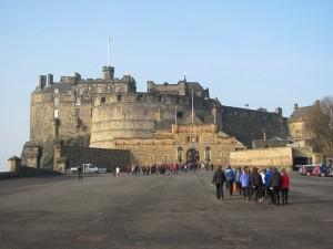 Edinburgh-Schottland-Burg