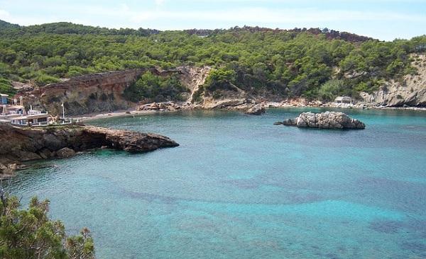Die andere Seite der Insel Ibiza