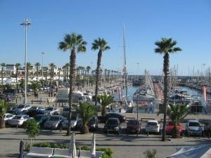Entspannen am Barcelona Yachthafen