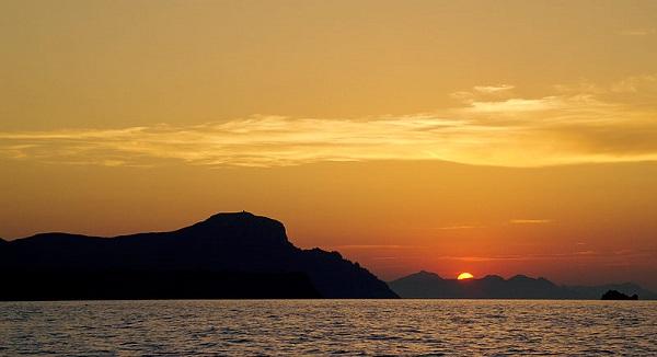 Good Bye Mallorca Sonnenuntergang