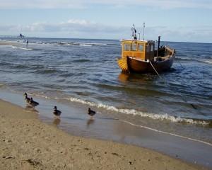 Ostsee-Fischerboot