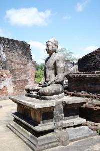 Polonnaruwa-Statue