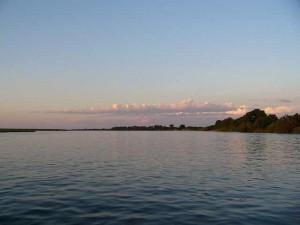 Fluss in Botswana