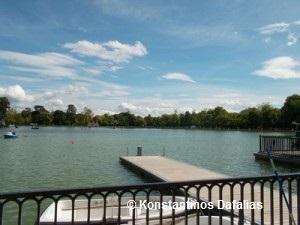 See in Madrid - Abkühlung an heißen Tagen.