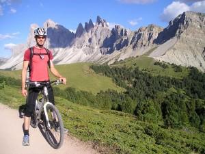 Fahrradtour-Alpen