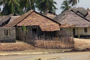 Kenia-Dorf