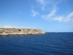 Mallorca-Strandurlaub und tiefblaues Wasser