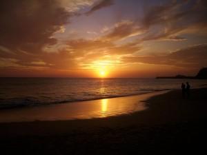 Sonnenuntergang-Jandia