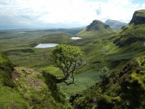 Die traumhafte Landschaft Schottlands.