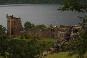 Urquhart Castle bei Loch Ness