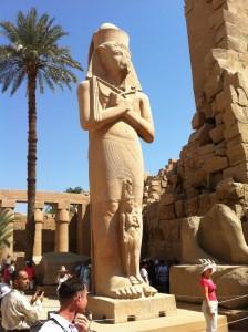 Statue von Ramses des Zweiten