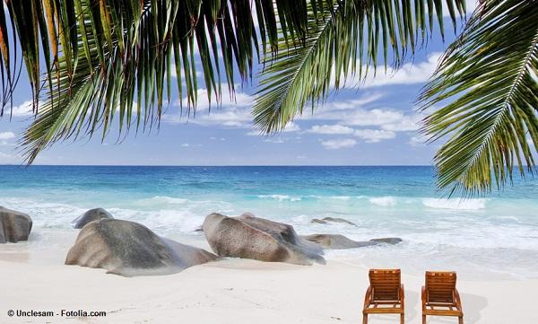 Anse Source d'Argent - Traumstrand auf La Digue / Seychellen.