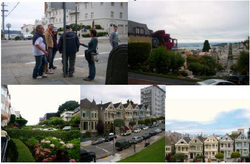 Impressionen aus San Francisco - die Lombardstreet.