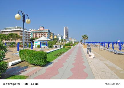 Strand von Lido di Jesolo