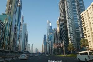 Hochhäuser in Dubai.