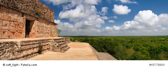 Panoramasicht Palenque