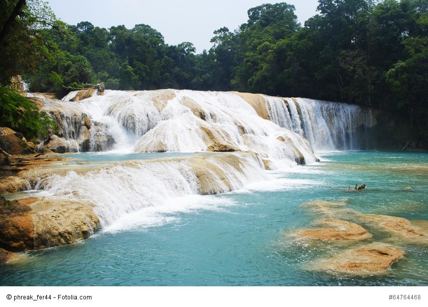 Wasserfälle von Agua Azul