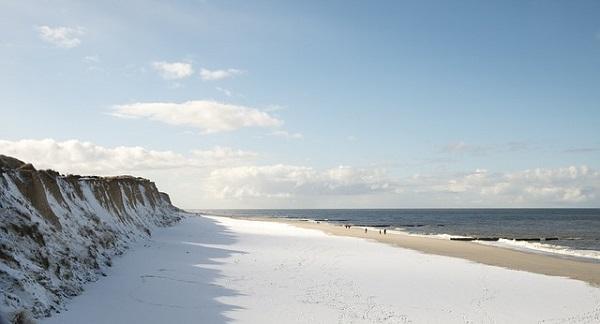 Sylt bei Schnee © pixabay.com