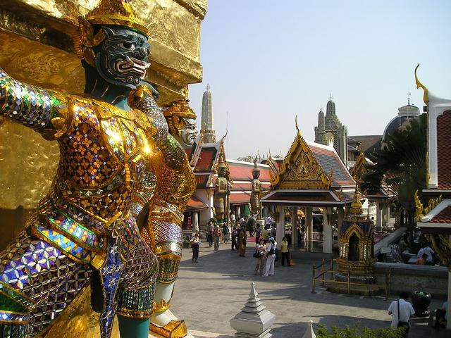 Besuch des Königspalasts von Bangkok © pixabay.com