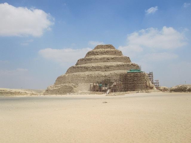 Stufenpyramide-Sakkara