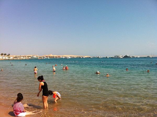 Strand von Hurghada